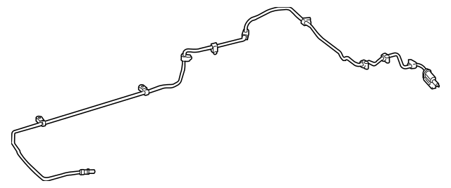 2013-2015 Mercedes-Benz GLK 250 Feed Line 204-470-31-64
