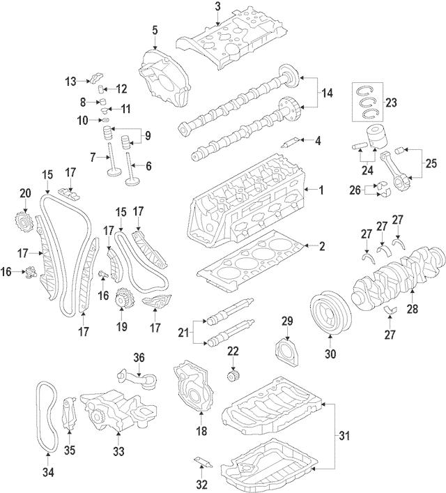 2005 Audi A4 Valve Keeper Manual