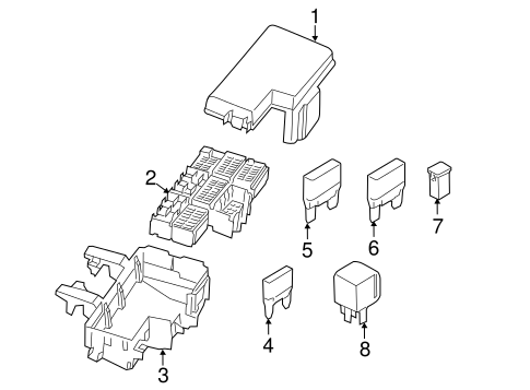 FUSE BOX for 2015 Ford Mustang