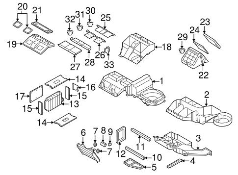 Evaporator & Heater Components for 2008 GMC Envoy