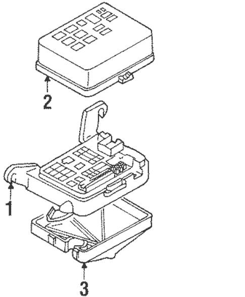 Wiring Manual PDF: 2004 Isuzu Axiom Fuse Box Location