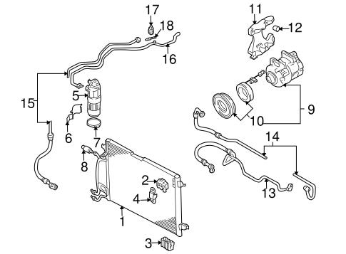 A/C Clutch & Compressor for 2004 Audi Allroad Quattro
