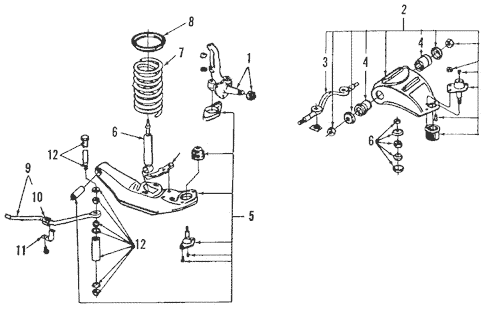 1989 Lincoln Town Car Engine Diagram : Ek 1097 1989