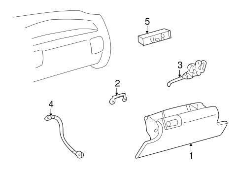 Instrument Panel for 1995 Chevrolet K1500 Pickup