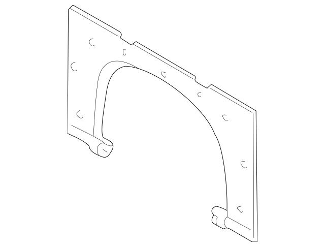 2001-2005 Hyundai Elantra Partition Panel 85785-2D000