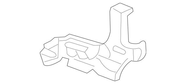 2006-2014 Honda RIDGELINE SEDAN Bulkhead, L Front Side