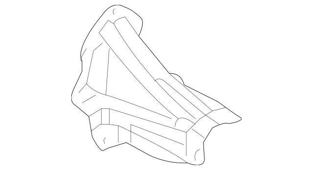 2005-2014 Ford Mustang Cross-Member Extension 4R3Z
