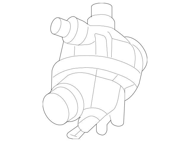 Genuine BMW Engine Coolant Thermostat Kit 11-53-7-549-476