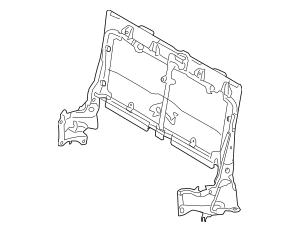 2008-2010 Toyota Highlander Seat Back Frame 79203-0E020