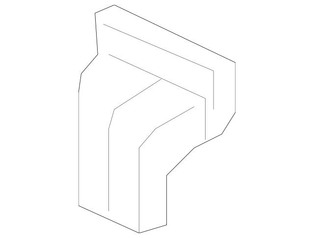 2006-2014 Honda RIDGELINE SEDAN Hinge, L Tailgate (Lower