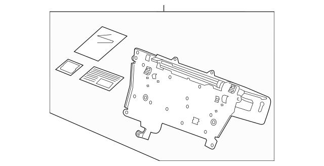 2011-2015 Honda CR-Z HATCHBACK Audio Unit Assembly, Base