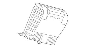 2011 Honda CR-Z HATCHBACK Amplifier Assembly, Premium