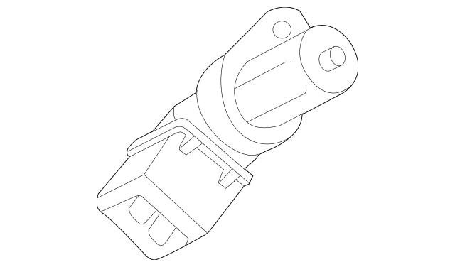 Genuine BMW Engine Crankshaft Position Sensor 13-62-7-548
