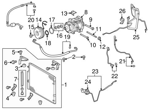 Serpentine Belt Diagram 2010 Toyota Tacoma V6 40 Liter