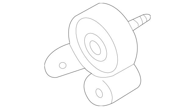 Genuine Audi Engine Timing Belt Tensioner Pulley 06C-109