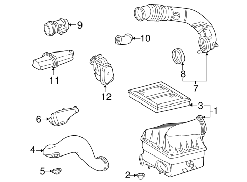 Powertrain Control for 2003 Mercedes-Benz ML 320