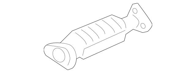 2008-2010 Honda ODYSSEY 5-DOOR Converter 18160-RGW-A00