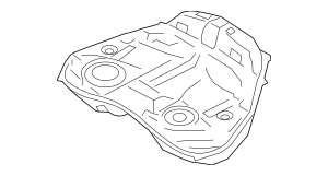 2005-2009 Subaru Fuel Tank Assembly VIN Required