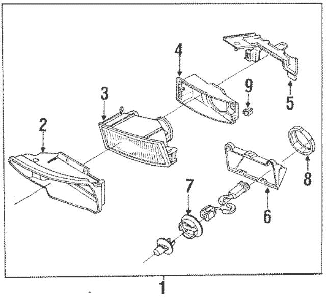1989-1991 Mazda RX-7 Mount Ring FC04-51-6G3