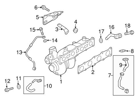 Genesis Coupe Engine/Turbocharger & Components Parts