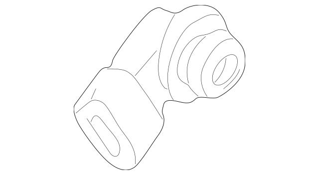 1992-2005 Ford OEM Parking Light Bulb Socket F1TZ-13411-F