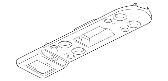 2008-2010 Infiniti QX56 Overhead Console 96980-ZQ11D