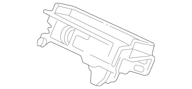 1991-2005 Acura NSX COUPE Outer, Ashtray 77731-SL0-A02