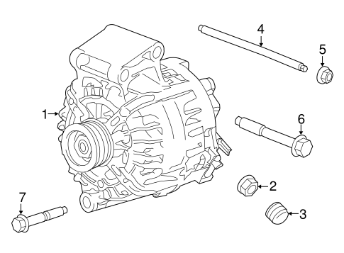 ALTERNATOR for 2017 Ford Transit Connect