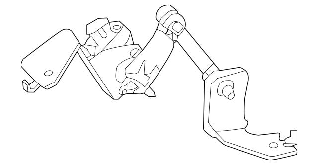 Genuine OEM Height Sensor Part# 53820-4BA0A Fits 2014-2016