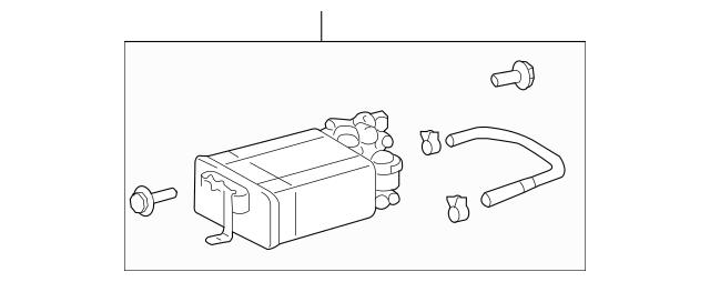 Genuine OEM Vapor Canister Part# 77740-48100 Fits 2004
