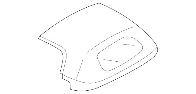 2006-2015 Mazda MX-5 Miata Convertible Top NE55-R1-210T-89