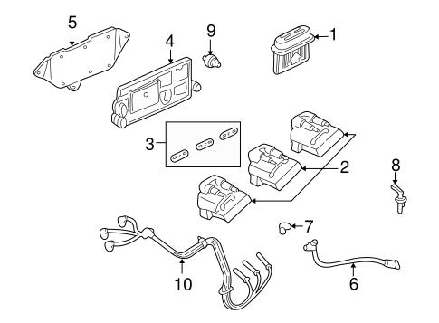 OEM Ignition System for 2004 Chevrolet Impala