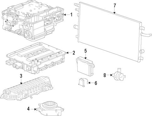 Hybrid Components for 2009 Chevrolet Silverado 1500