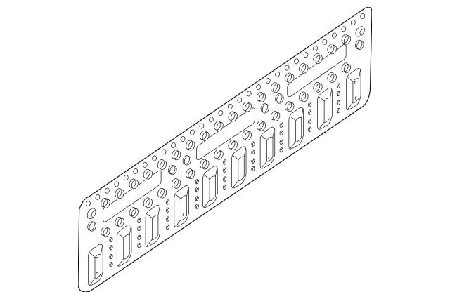 2007-2018 Nissan Frontier Tail Gate Trim 90522-ZP50A