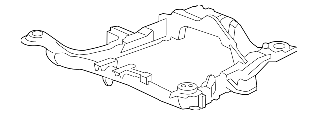 2007-2009 Acura MDX 5-DOOR Sub-Frame, Front Suspension