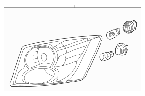 2011-2014 Acura TSX 5-DOOR Taillight Assembly, L 33550-TL7
