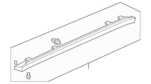 1999-2003 Acura TL SEDAN Garnish Assembly*NH623M* 71800