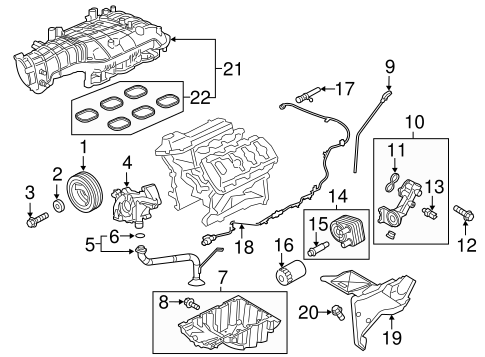 INTAKE for 2015 Ford F-150