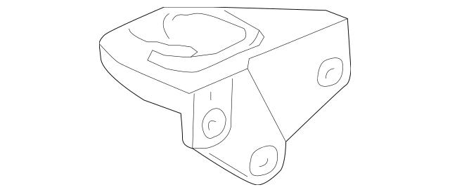 2004-2008 Acura TSX SEDAN Rubber, Transmission Mounting