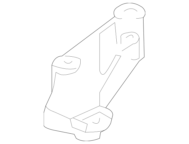 2004-2008 Acura TSX SEDAN Bracket, Transmission Mount