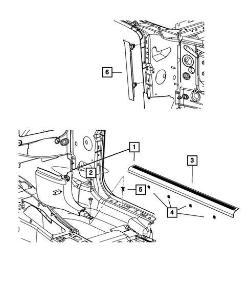Panels-Moldings-Scuff Plates, Pillar, Cowl, 1/4 Panel Trim