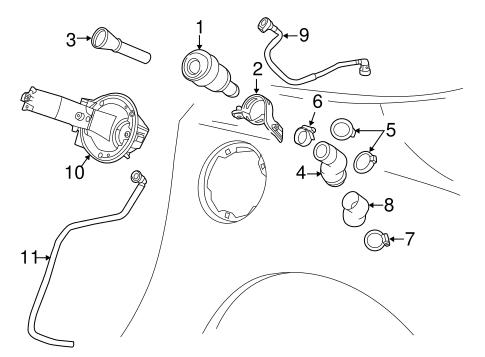Fuel System Components for 2019 Chevrolet Corvette