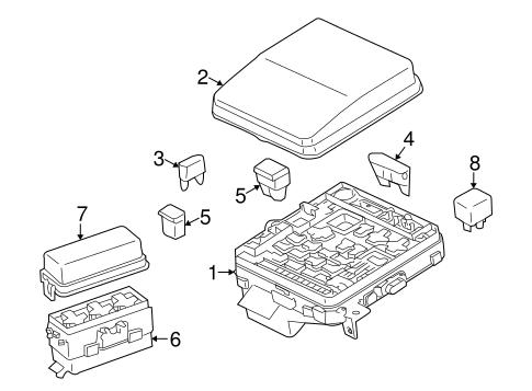2008 Mitsubishi Lancer Fuse Box Diagram / Fuse Box Diagram