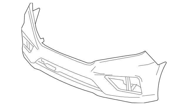 2018-2020 Honda ODYSSEY 5-DOOR Face, Front Bumper 04711