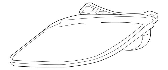 2003-2005 Pontiac Sunfire Headlamp Assembly 22713667