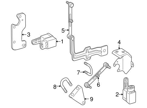 Electrical Components for 2009 Mercedes-Benz SLK 300