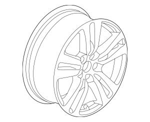 Discount Genuine OEM 2016-2017 Honda Disk, Aluminum Wheel