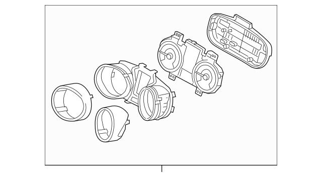 2013-2014 Hyundai Elantra GT Instrument Cluster 94053