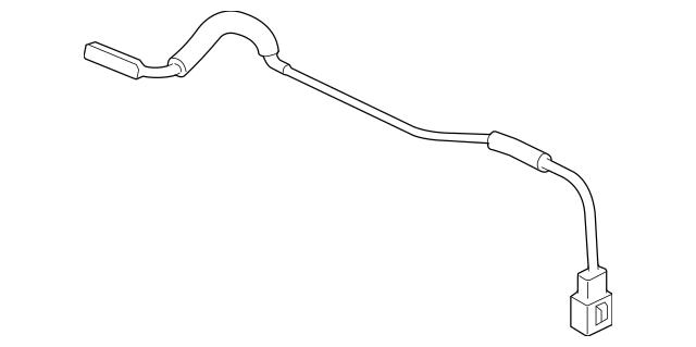 2006-2011 Honda CIVIC HYBRID SEDAN Sub-Feeder, Antenna