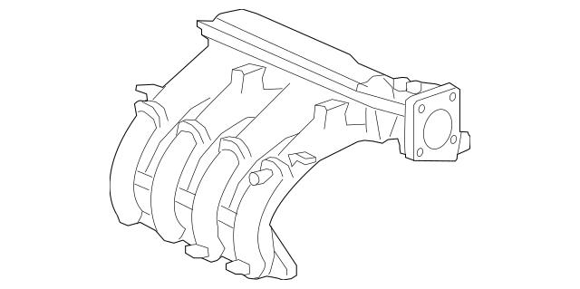 2010-2014 Honda INSIGHT Manifold Assembly, In 17000-RBJ